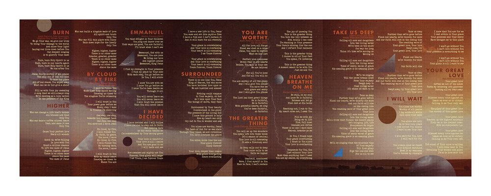 3-Panel Insert | Side B (Lyrics)