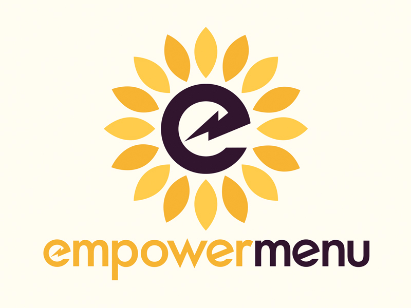 This logo was tailor-made for my wife Miriam!  Empowermenu  is meant to represent her passion for eating healthy, spending smart and empowered living - all while inspiring others to do the same. This was an absolute honor to put this together for her!
