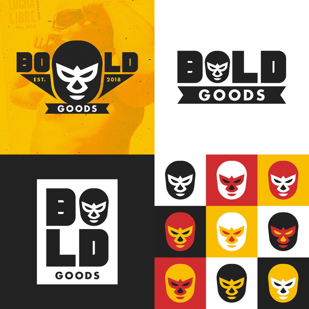 """BOLD Goods (Logo Suite)"""