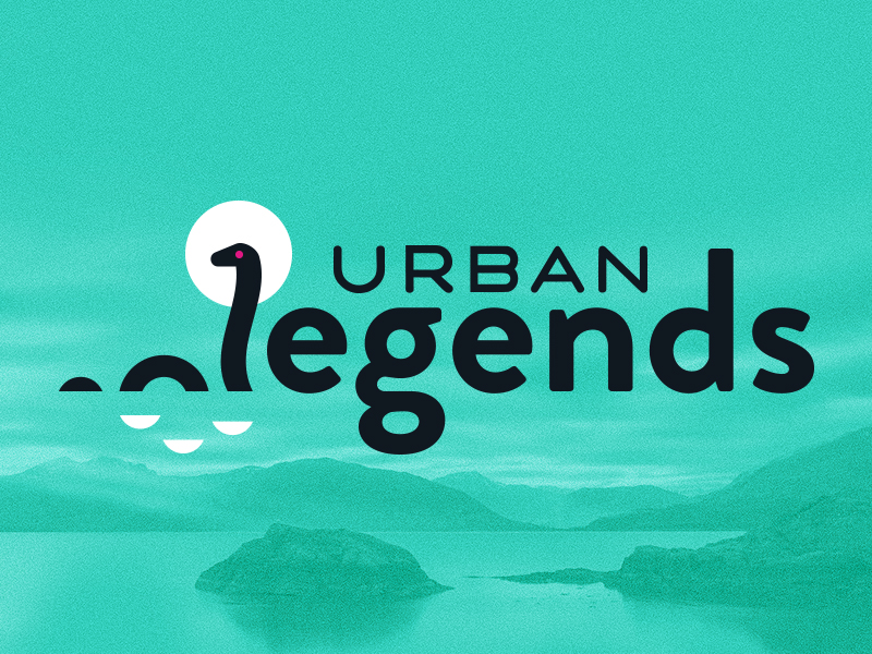 "This is a title logo for a message called ""Urban Legends"", for Rolling Hills! The topic is about dispelling certain myths about God. Way cool. For the  look , they wanted something modern, compelling, and even a little mysterious. This was such a fun assignment - so fun in fact, I had a blast developing  this concept  too ;). Check out all of the design elements for this one  here !"