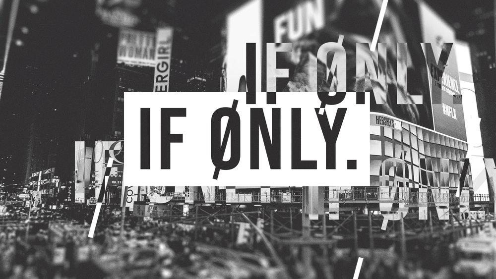 """If Only"" Alternate Design Option 3"