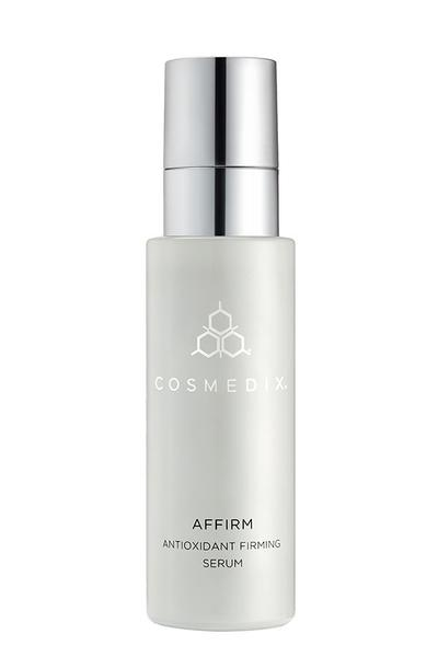 Affirm - AM/PM Antioxidant Firming Serum  Supercharged serum packed with peptides and antioxidants to defend against harmful free radicals.