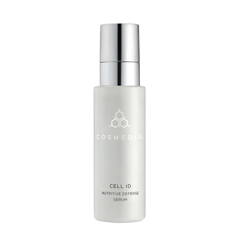 Cell ID - AM/PM - Nutritive Defense Serum A restorative serum that helps in the proliferation of healthy skin while reducing the appearance of fine lines, wrinkles, dark spots and other signs.