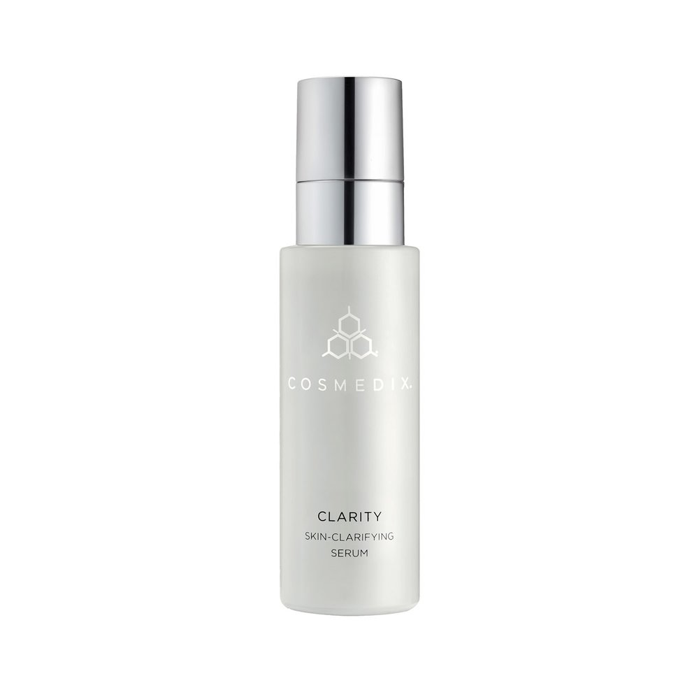 Clarity - AM/PM - Serum Salicylic Acid, Tea Tree Oil, and Willowherb decongest and purify impurities while helping balance oil production. Aloe Vera soothes the appearance of agitated, problematic skin. The perfect addition for oily, congested, break-out prone skin.