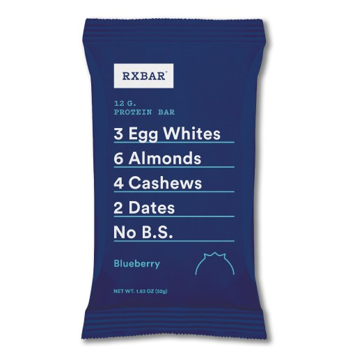 BLUEBERRY:  Blueberry is a go-to favorite. Bursting antioxidants, 12 grams of egg white protein and only 6 ingredients, this nutritional powerhouse packs a true-blue flavor punch.