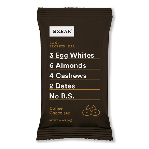 COFFEE CHOCOLATE:   No two flavors go together better than coffee and chocolate. So we made them one. 100% chocolate (aka cacao), a bright pop of coffee and now with cashew instead of fig, Coffee Chocolate is an everyday eye-opener.