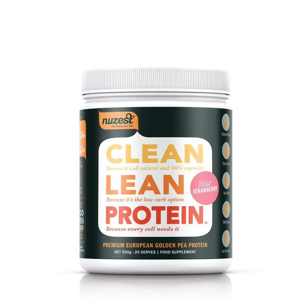 Clean Lean Protein is protein in its purest form - natural and free from all common allergens. No gluten, dairy or soy GMOs or artificial preservatives. It's 100% vegetable, low in carbohydrates and high in digestible protein. Clean Lean Protein is the ideal protein supplement to support an active lifestyle and good nutrition. Perfect for those wanting to look, feel and perform at their best.