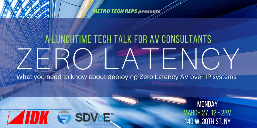 ZERO LATENCY TECH TALK