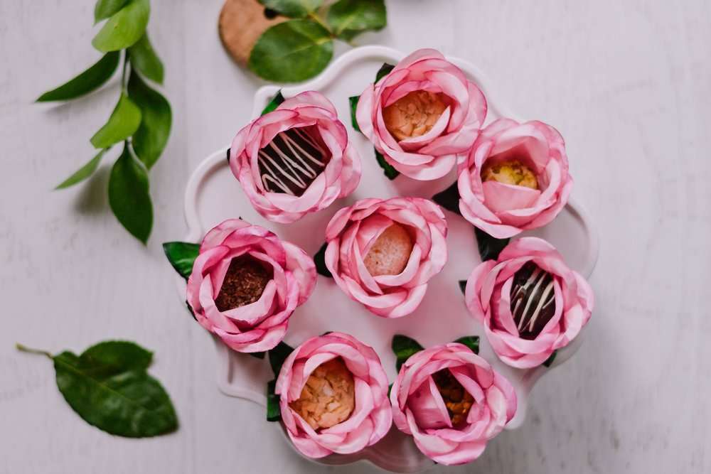 truffle flower wrappers -