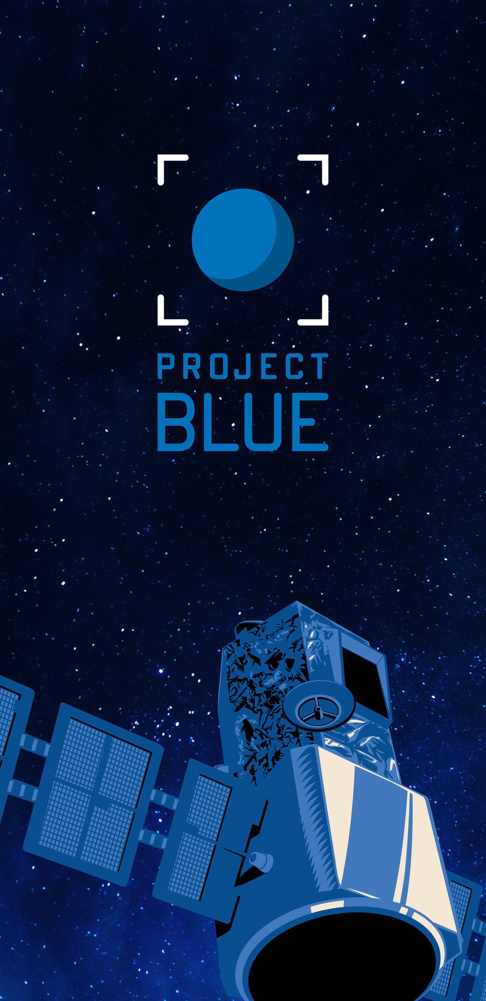 Project Blue Mobile Wallpaper