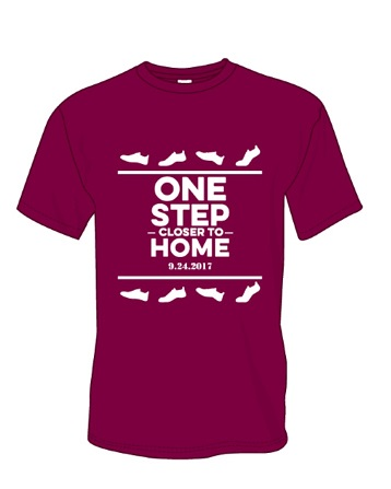 2017 One Step Closer to Home                    Walk Shirt