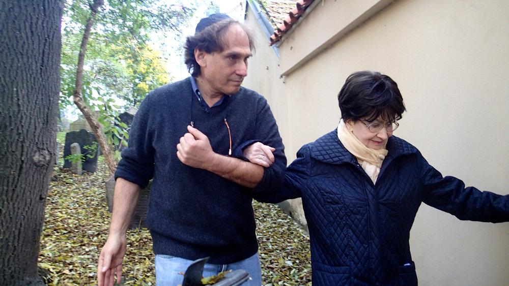 Peter Getzels and  Zuzana Růžičková in Prague