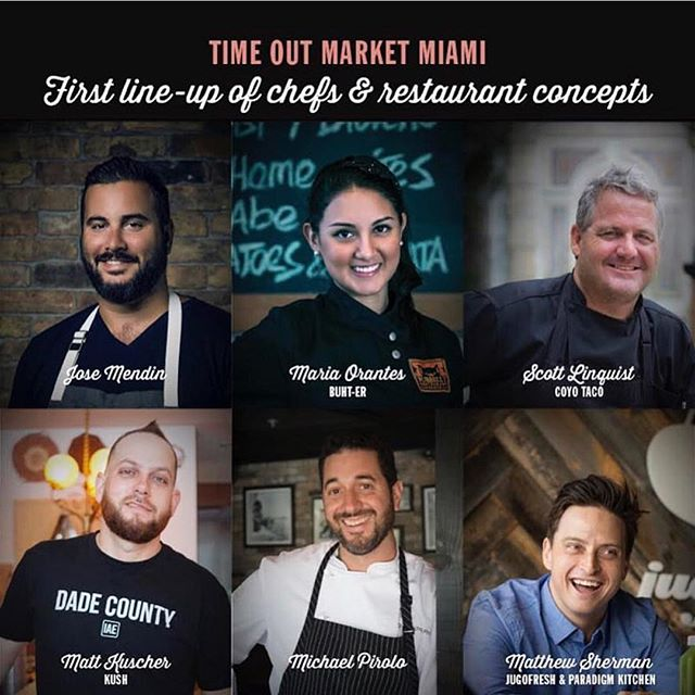 The ultimate culinary experience all under one roof! @timeoutmarketmiami coming 2018!  #miami #TimeOutmarketMiami