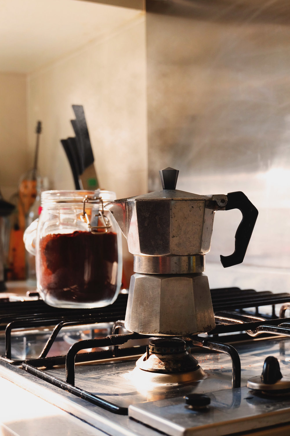"""""""With kitchens come stoves and with stoves good coffee. You fellas ever had French Pressed coffee? Try that shit now, thank me later"""""""