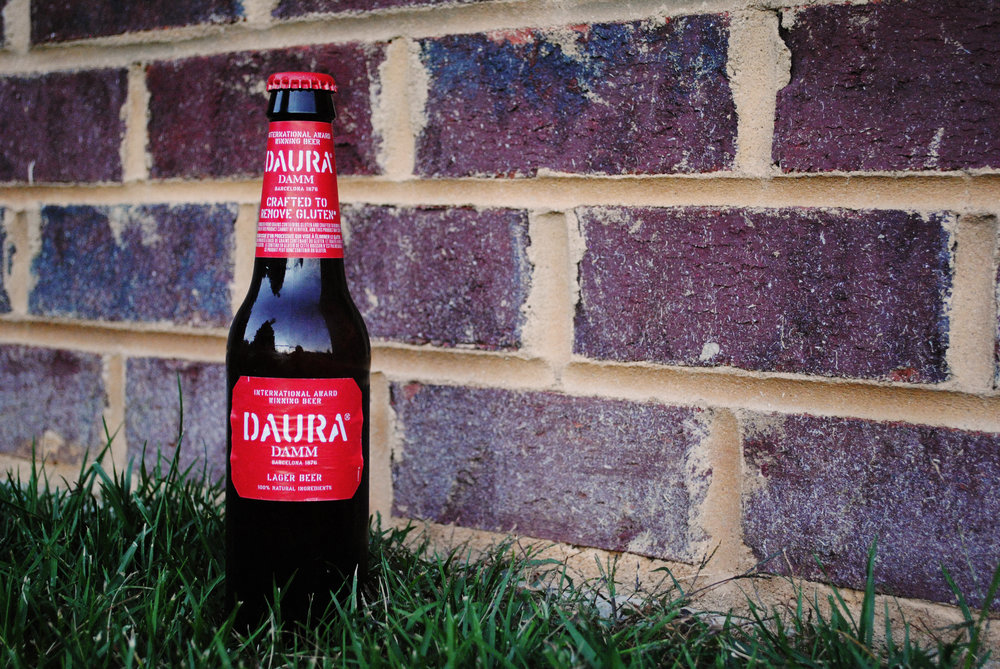 One of my preferred gluten-free beers, the Daura Damm