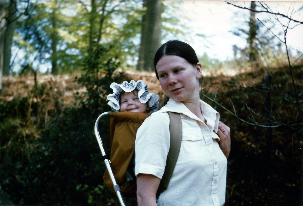 Mum & me circa 1979!