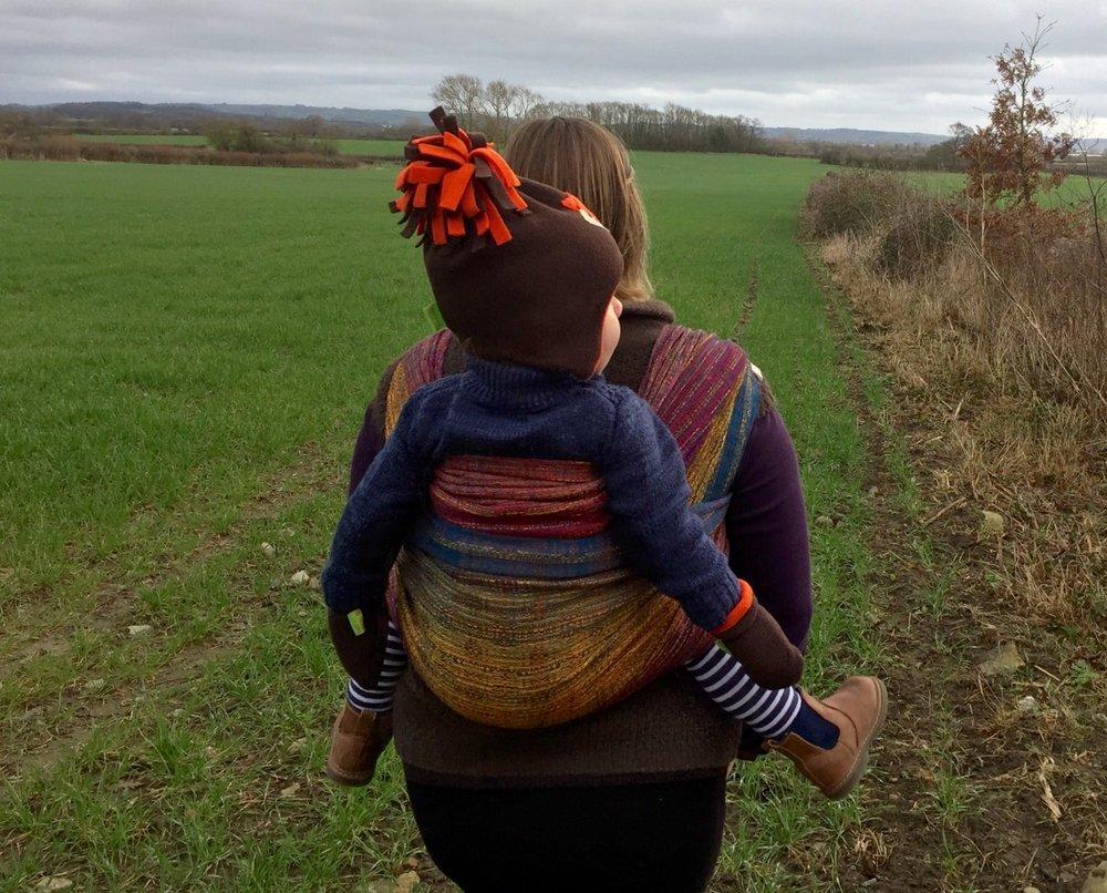 Little Fellows 'After Autumn Must Come...' LF313 Handwoven