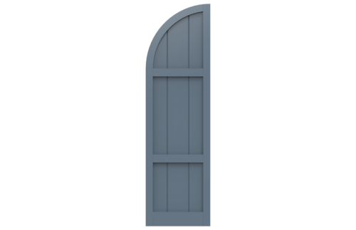Board Style — New Horizon Shutters | Custom Exterior Shutters on arch top wrought iron, arch top interior shutter, arch top vinyl shutters, arch top shutters for windows, arch top vinyl windows,