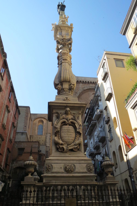 San Gennaro Guglia in Sisto Riario Sforza.