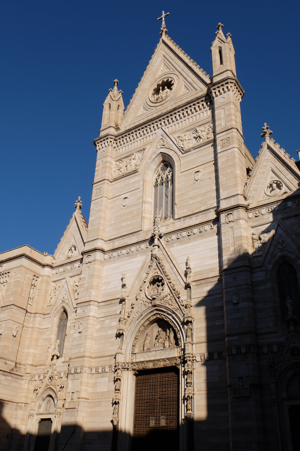 The incredible façade of the Cathedral.
