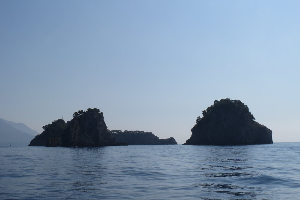 The island of Li Galli where Rudolf Nureyev lived.