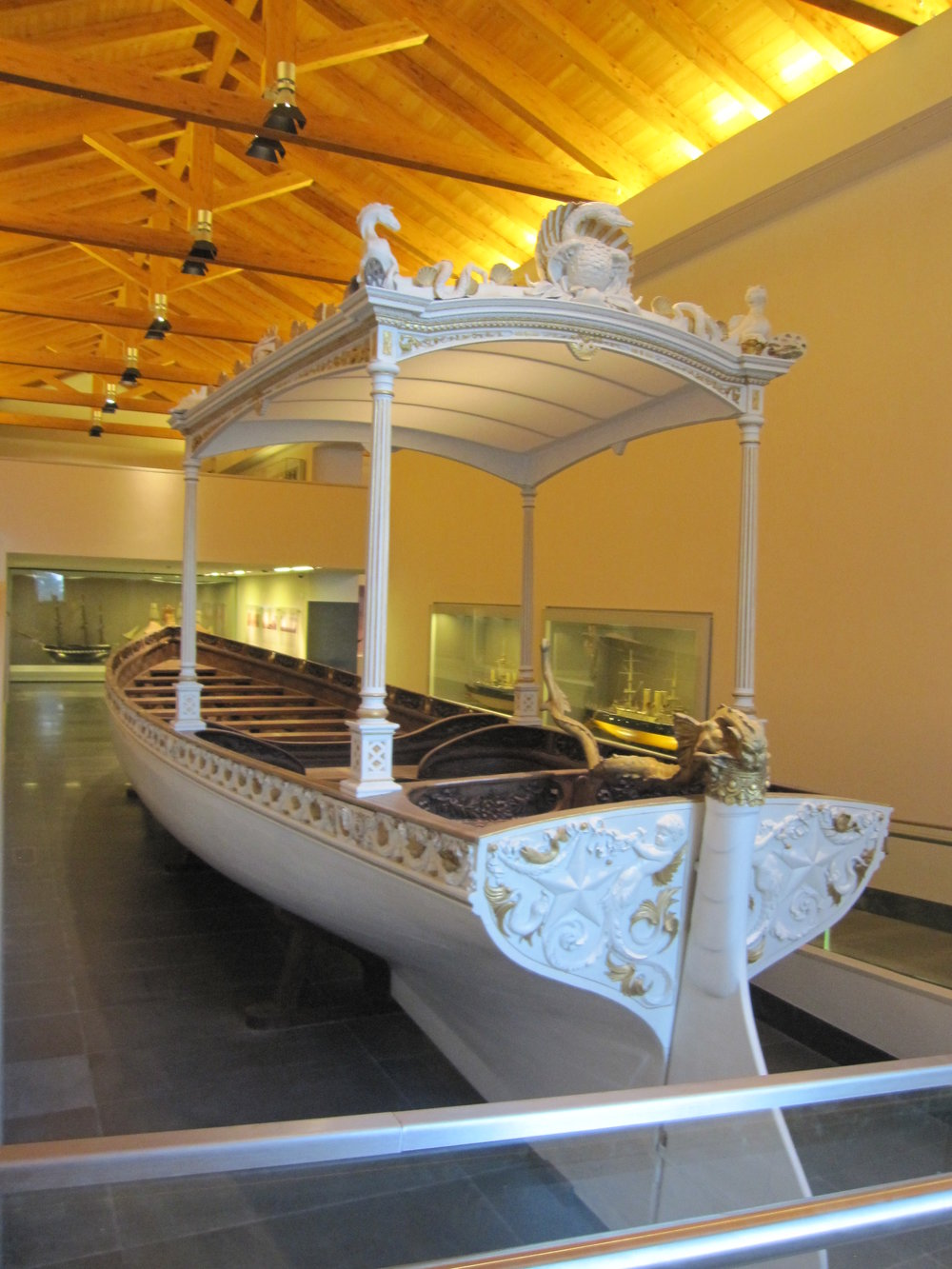 Naval section of the Museum.