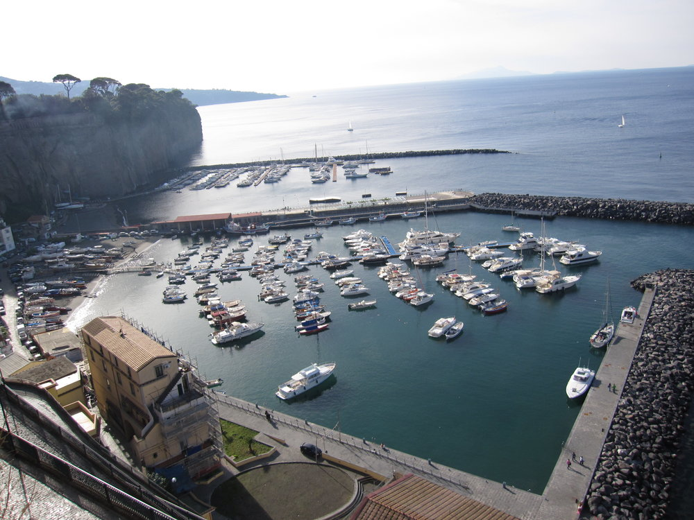 Harbour in Piano di Sorrento.