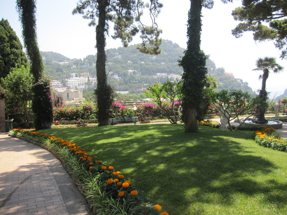 View from the Augustus Gardens.