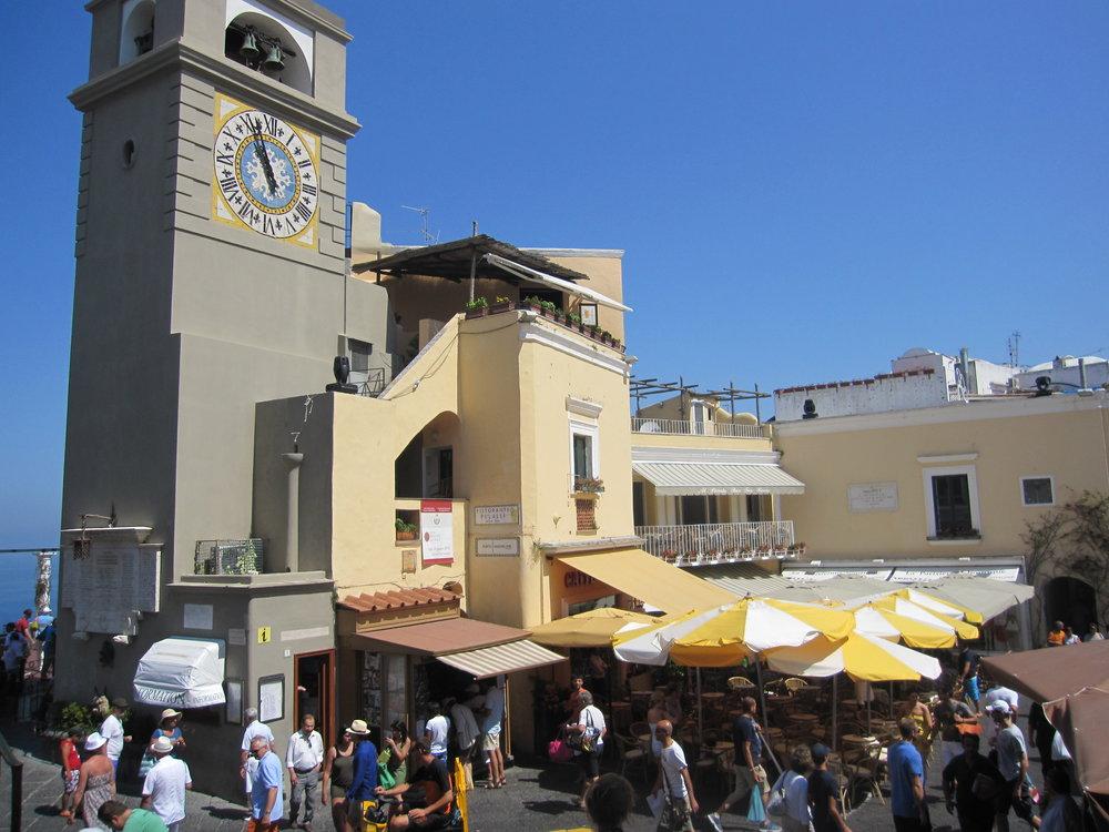 The piazzetta.