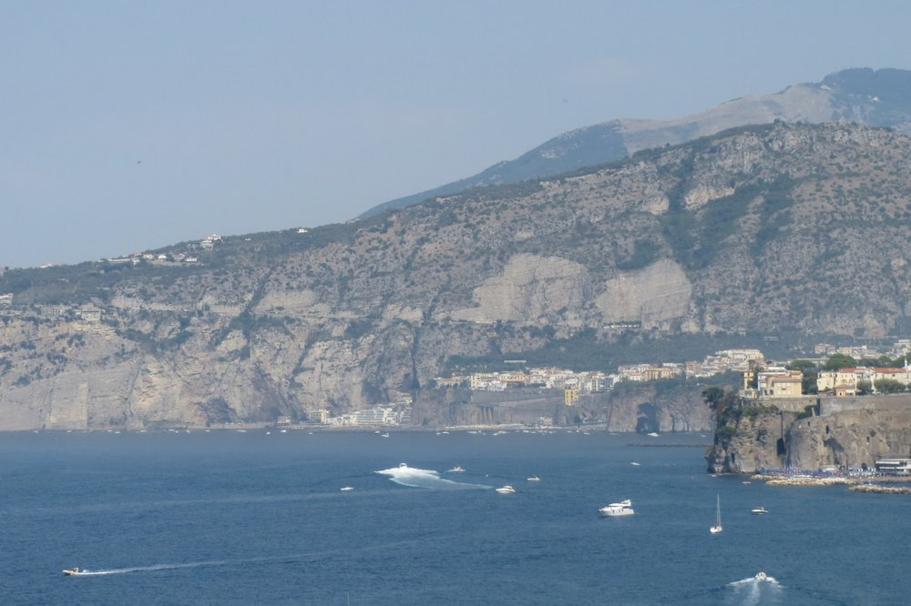 The beauty of the Sorrento coast.