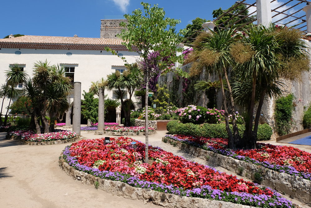 Gardens of the villa.