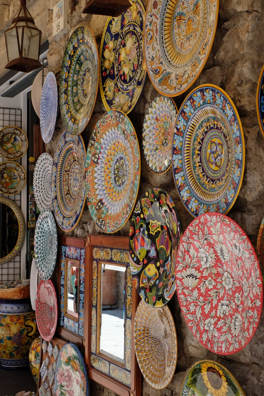 Local ceramics.