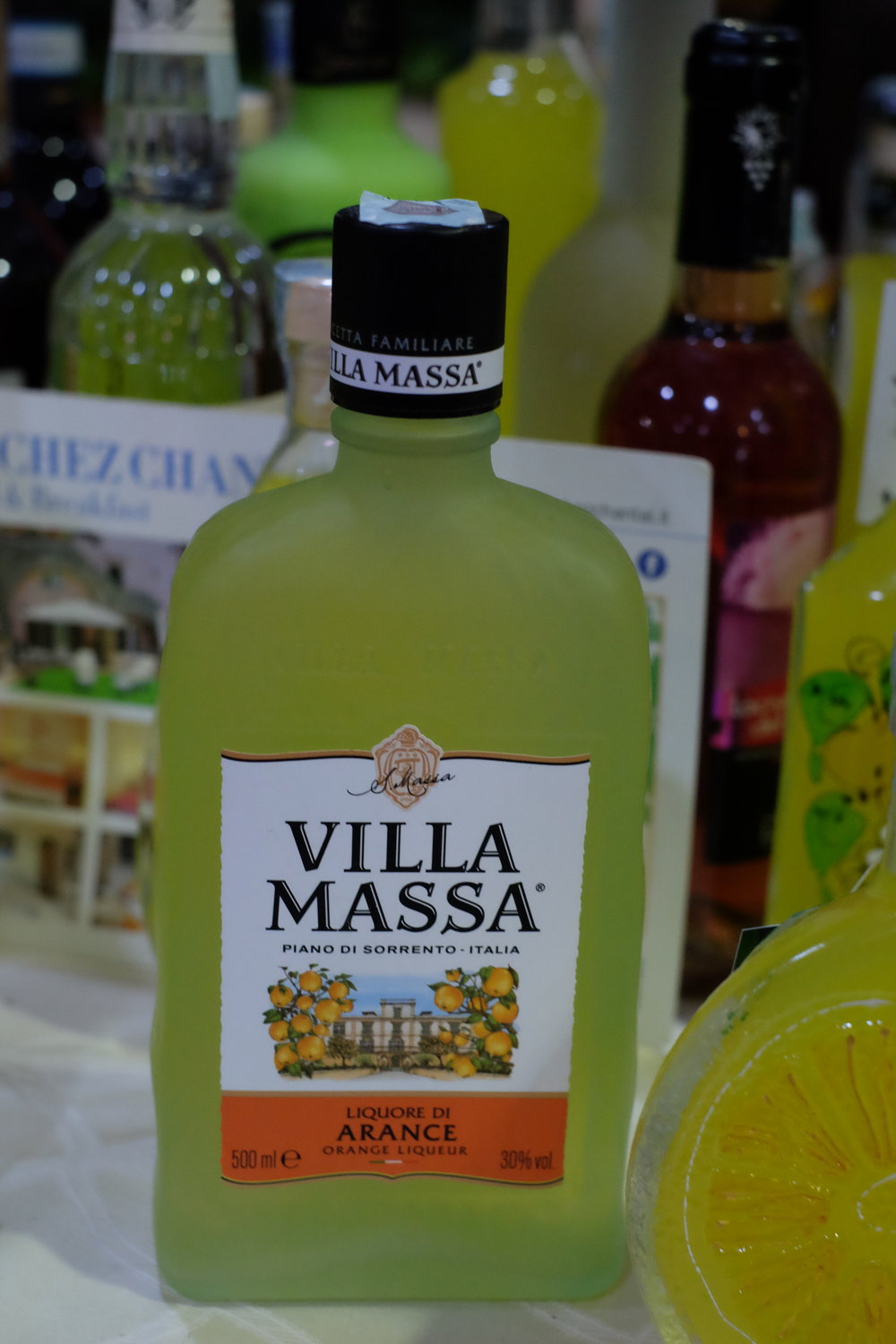 The local limoncello.