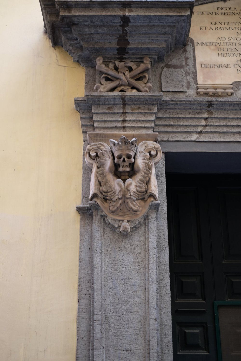 Details of the door.