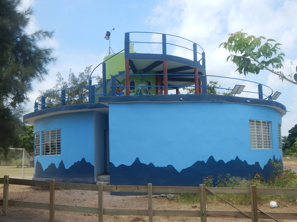 Chichicaxtle Veracruz Bird Observatory, where counts and school programs occur.