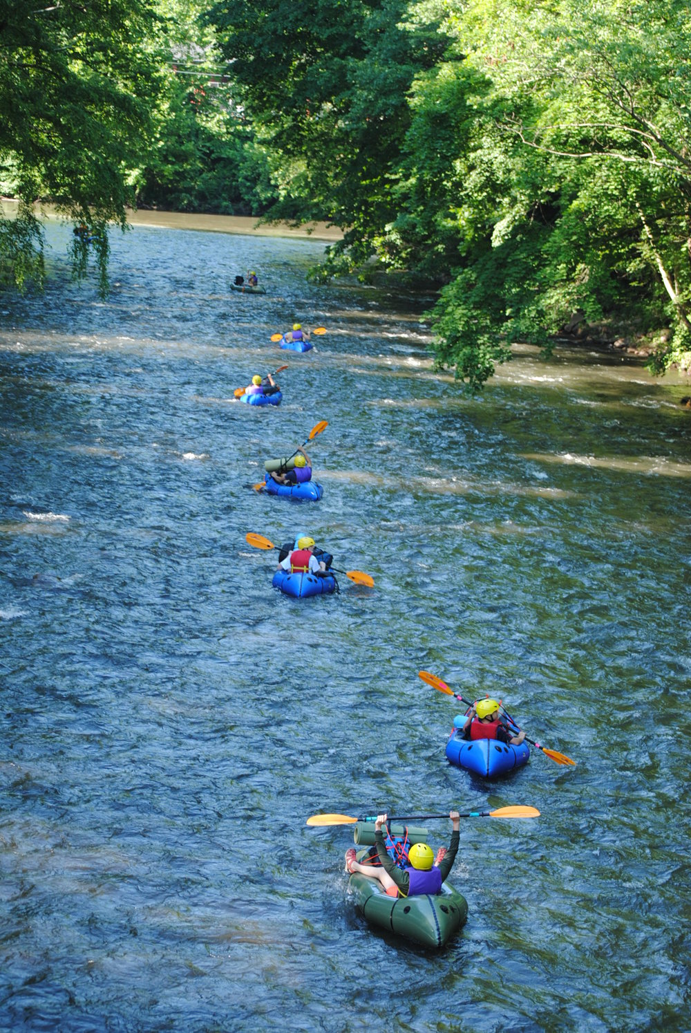 packrafting down the river, pic by wendy white.JPG