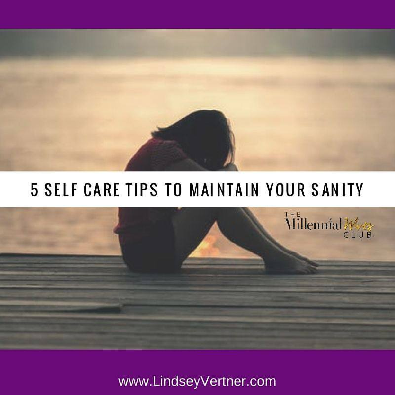 Lindsey Vertner was a guest blogger for the millennial wives club. She discussed the importance of self-care.