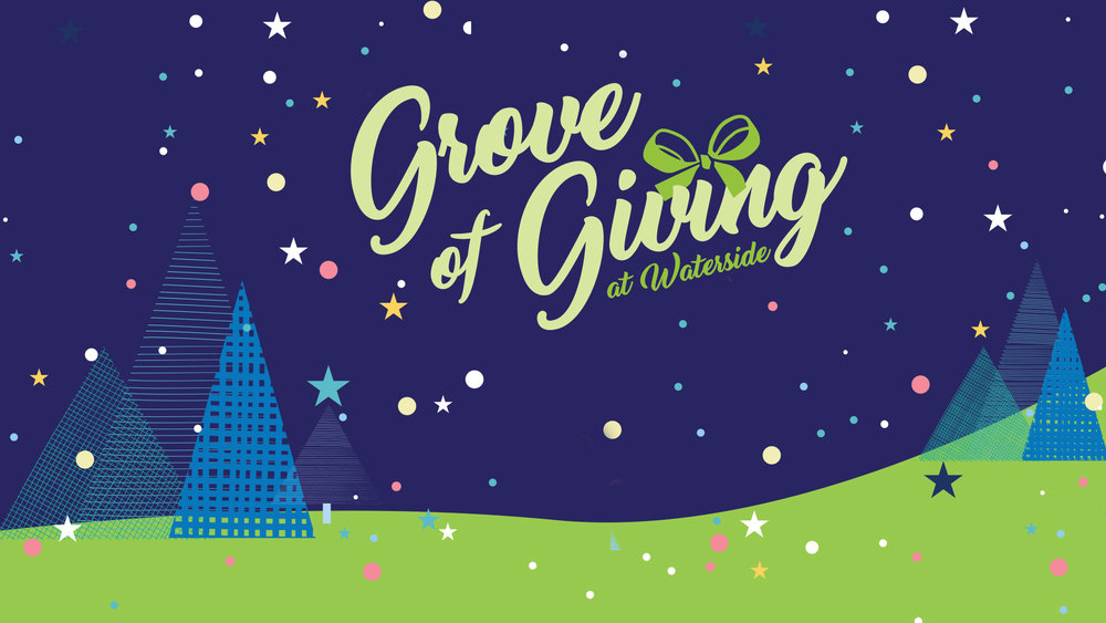 Grove of Giving at Waterside