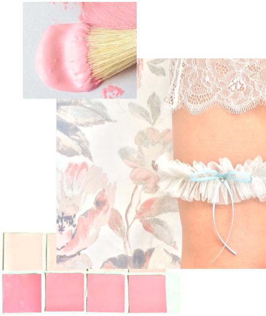Bleu Garters modern bridal garters for the contemporary bride.