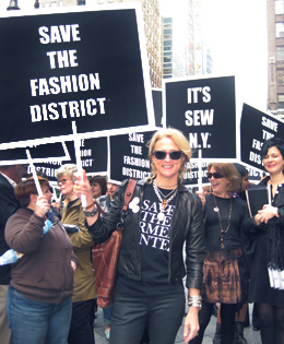 Nanette Lepore and NYC's Save the Garment Center