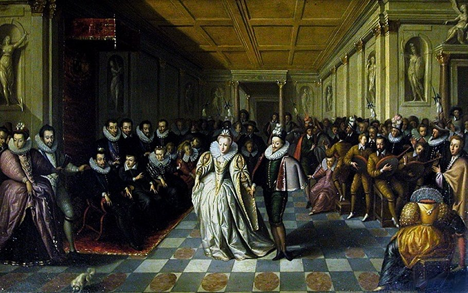 Wedding of Duc de Joyeuse with Marguerite de Vaudemont ,Hieronymus Francken
