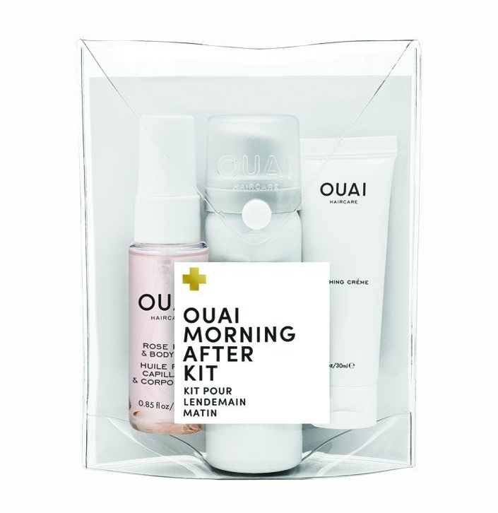 Ouai Morning After Kit Bleu Garters Bridal Garters Best Apothecary
