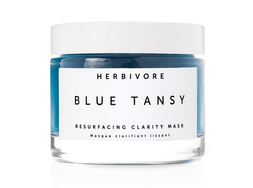 Herbivore blue tansy mask bleu garters bridal garters