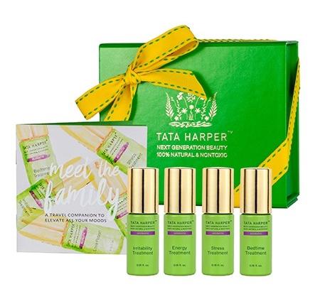 Tata Harper Be Well Aromatherapy Set Bleu Garters Bridal Garters