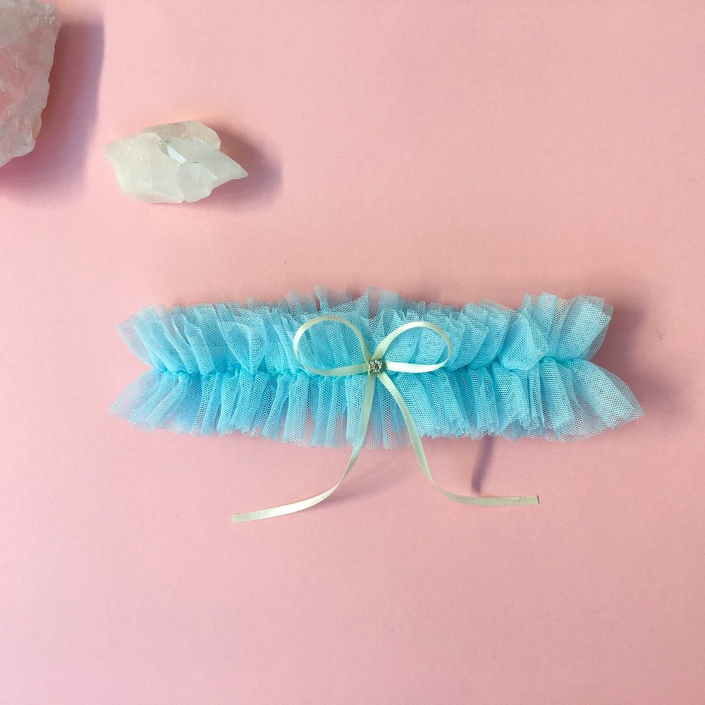 Bridal Garter Sets | Something Blue Garter