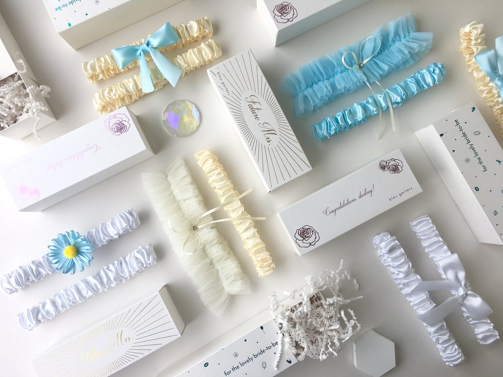 Wedding Garters and Toss Garters for the Bride