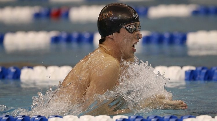 UT Senior and Texas Cowboy Will Licon shines at NCAA Swimming and Diving Championships,taking first in the 200-yard breaststroke with a record time of 1 minute, 47.91 seconds. Click hereto read more about Will Licon's winning swim.
