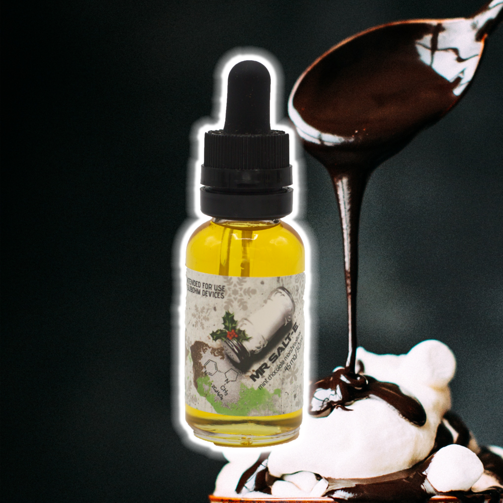 Mint Chocolate Marshmallow - 45mg - MR SALT-E