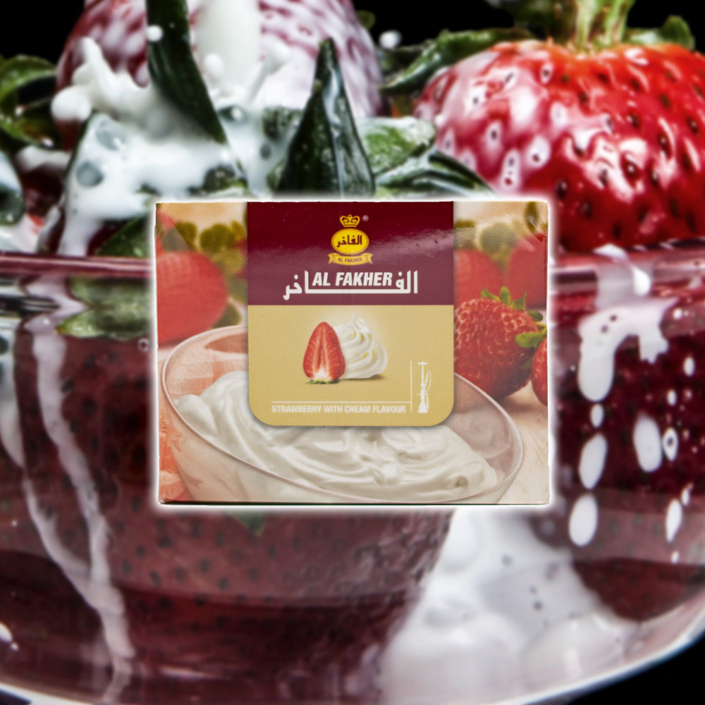 Strawberry with Cream - Al Fakher