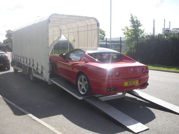 uk supercar transport